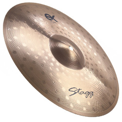 Stagg EXCM16B 16 Inch EX Medium Crash Cymbal