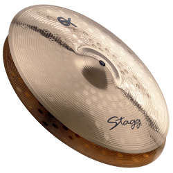 Stagg EXHM14B 14 Inch EX Medium Hi-Hat Cymbal