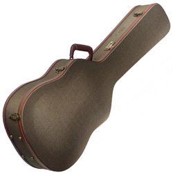 Stagg GCX-W BZ Bronze Tweed Deluxe Western/Dreadnought Guitar Case