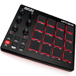 Akai MPD218 MIDI-over-USB Pad Controller with 18 Assignable Potentiometers Accessible Via 3 Banks
