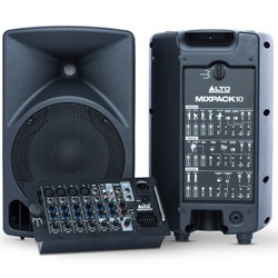 Alto MIXPACK 10 All In One 400W Peak Portable Sound System