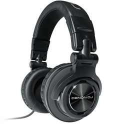 Denon DJ DN-HP1100 Professional Headphones with Comfortable Headband for Long Term Use