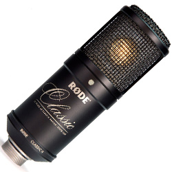 Rode CLASSIC 2 LTD Limited Edition Multi-Pattern Tube/Condenser Microphone