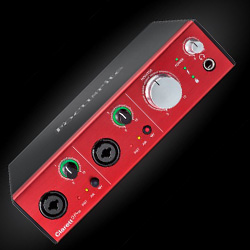 Focusrite Clarett 2pre Thunderbolt 10 Input 4 Output Thunderbolt Audio Interface and Mic Preamp