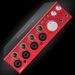 Focusrite Clarett 4pre Thunderbolt 18 Input 8 Output Thunderbolt Audio Interface and Mic Preamp