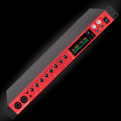 Focusrite Clarett 8pre Thunderbolt 18 Input 20 Output Thunderbolt Audio Interface and Mic Preamp
