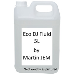 Martin JEM Eco DJ Fluid 5L Specifically Made for Martin JEM Fog Machines