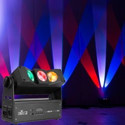 Chauvet DJ SlimBEAM Quad IRC 3 LED RGBA Accent Light with Unique Beam Effects (discontinued clearance - open box 9.5 condition)