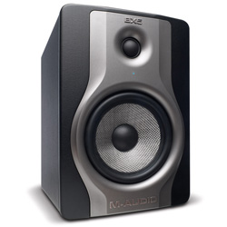 M-Audio BX5 Carbon Active Studio Monitor for Music Production and Mixing (discontinued clearance open box)