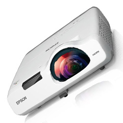 Epson V11H674020 PowerLite 520 XGA 3LCD 2700 Lumens Short Throw Projector