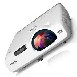 Epson V11H671020 PowerLite 535W WXGA 3LCD 3400 Lumens Projector