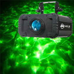 American DJ H2O-IR 12W LED Multi Coloured Simulated Water Flowing Effect Light
