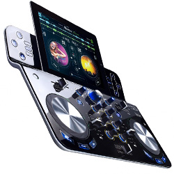 Hercules Audio DjControlWave M3 Wireless DJ Controller for iOS Android Mac and PC