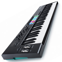 Novation Launchkey 61 MK2 61 Key Synth Style Velocity Sensitive MIDI Keyboard