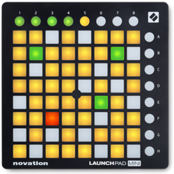 Novation Launchpad Mini MK2 Compact Ableton Live Electronic Drum Grid Controller