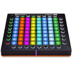 Novation LaunchPad Pro Professional Grid Style Electronic Drum Controller for Ableton Live