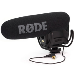 Rode VideoMic PRO Compact Directional On-Camera Microphone with Rycote Onboard