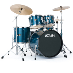 "Tama IP52KH6HCHLB Imperial Star 22"" 5pc Drum Kit with Meinl HCS Cymbals in Hairline Blue  (discontinued clearance)"