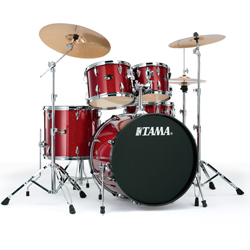 Tama IP52KH6HCCPM Imperial Star 5pc Drum Kit with Meinl HCS Cymbals in Candy Apple Mist (discontinued clearance)