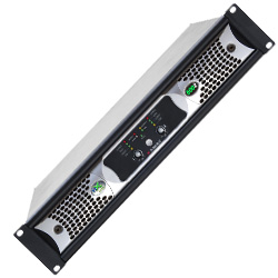 Ashly nXe8002 70V/100V Network Amplifier with Ethernet and 800W Per 2 Channels