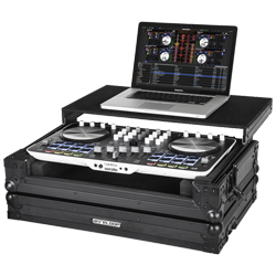 Reloop BEATMIX 4 Case Sturdy Protective Case for Beatmix 4 with Laptop Tray
