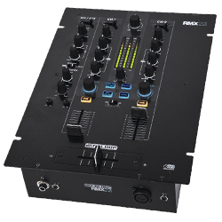 Reloop RMX-22I 2+1 Channel DJ Mixer with Integrated Instant Sound Colour Effects
