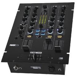 Reloop RMX-33I 3+1 Channel DJ Mixer with Integrated Instant Sound Colour