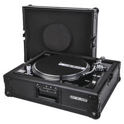 Reloop Turntable Case Professional Turntable case with Protective Foam Padding and Removable Cover