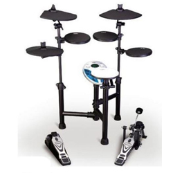 "Rhythm Band RB-EDS130 Foldable ""Spider Arm"" Electronic Drum Kit"