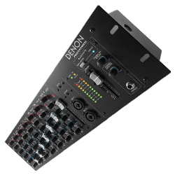 Denon Pro DN-410X 10 Channel Rackmount Mixer with Bluetooth