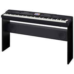 Casio CGP700 Compact Grand Piano 88 Key Hammer Action Keyboard with Touch Screen and Stand