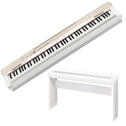 Casio PX160GD 88 Key Privia Digital Piano in Champagne Gold Finish with CS67W Stand