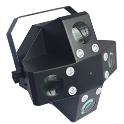 Microh DJ MONSOON FX PRO 20x3W RGBWA High Powered LED BEAM, LASER, and STROBE EFFECT