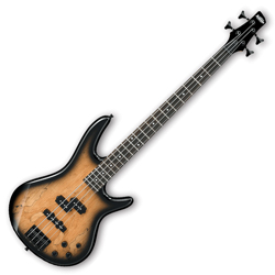 Ibanez GSR200SMNGT-d Gio Series 4 String Bass Guitar in Spalted maple Burst Finish (discontinued clearance)  (Prior Year Model)