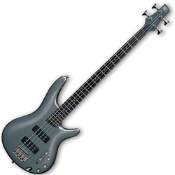 Ibanez SR300E-MG SR Series 4 String Bass Guitar in Metallic Gray Finish (discontinued clearance)