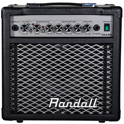 Randall RX15MBCC RX Series 15W 1x6.5 Guitar Combo Amp Black (Demo Clearance)