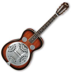 Ibanez RA200-BS 6 String Resonator Guitar in Brown Sunburst High Gloss Finish (discontinued clearance)
