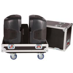 """Gator G-TOUR SPKR-212 Double Speaker Case for Two 12"""" Loudspeakers"""