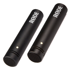 "Rode M5-MP Matched Pair of 1/2"" Cardioid Condenser Microphones with Low Noise and Full Frequency Response"