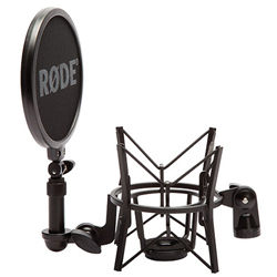 Rode SM6 High Quality Suspension Shock Mount with Detachable Pop Filter for Large Diaphragm Microphones