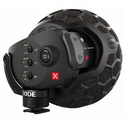 Rode Stereo VideoMic X Broadcast Grade On-Camera Condenser Microphone