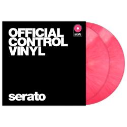 Serato SCV-PS-PNK-OV Pair of Pink 12 Inch Control Vinyls