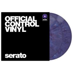 Serato SCV-PS-PUR-OV Pair of Purple 12 Inch Control Vinyls