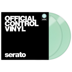 Serato SCV-PS-GID-OV Pair of Glow In The Dark 12 Inch Control Vinyls