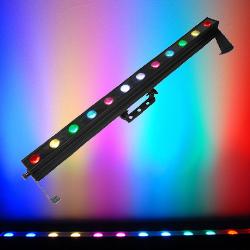 Chauvet COLORDASH BATTEN QUAD 12 Linear Wash with 12 Quad Coloured RGBA LEDs