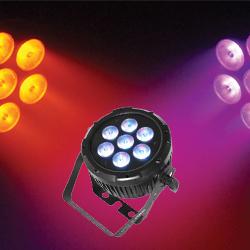 Chauvet Pro COLORDASH PAR QUAD 7 Quad Color Wash Light with 7 5W RGBA LEDs