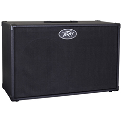 """Peavey 03615050 212 Extension Cab Guitar Amplifier Extension Cabinet with Two 12"""" Blue Marvel Speakers"""