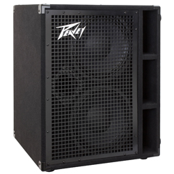 "Peavey 03615080 PVH 210 600W Bass Amplifier Cabinet with Two Heavy Duty 10"" Speakers"