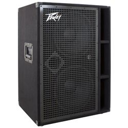 "Peavey 03615090 PVH 212 900W Bass Amplifier Cabinet with Two Heavy Duty 12"" Speakers"