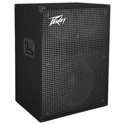 "Peavey 03615070 PVH 1516 900W Bass Amplifier Cabinet with Two Mid/High 8"" Speakers"